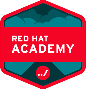 Logo Red Hat Academy